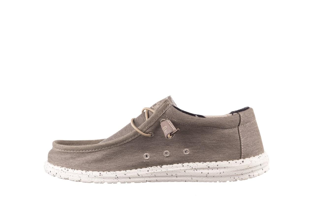 Półbuty heydude wally stretch beige, beż, materiał - sportowe - półbuty - buty męskie - mężczyzna 9