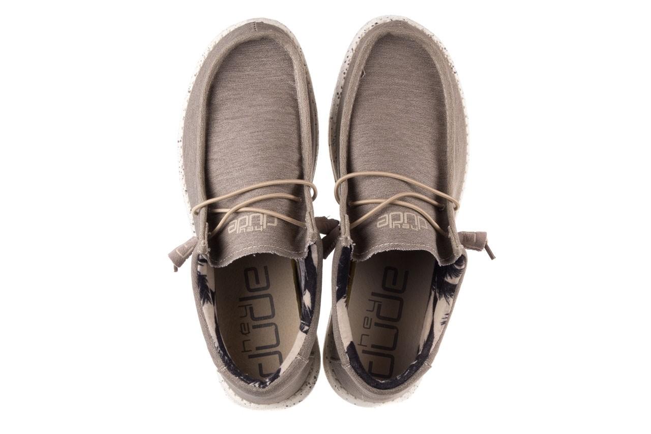 Półbuty heydude wally stretch beige, beż, materiał - sportowe - półbuty - buty męskie - mężczyzna 11