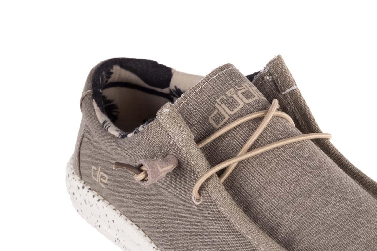 Półbuty heydude wally stretch beige, beż, materiał - sportowe - półbuty - buty męskie - mężczyzna 12