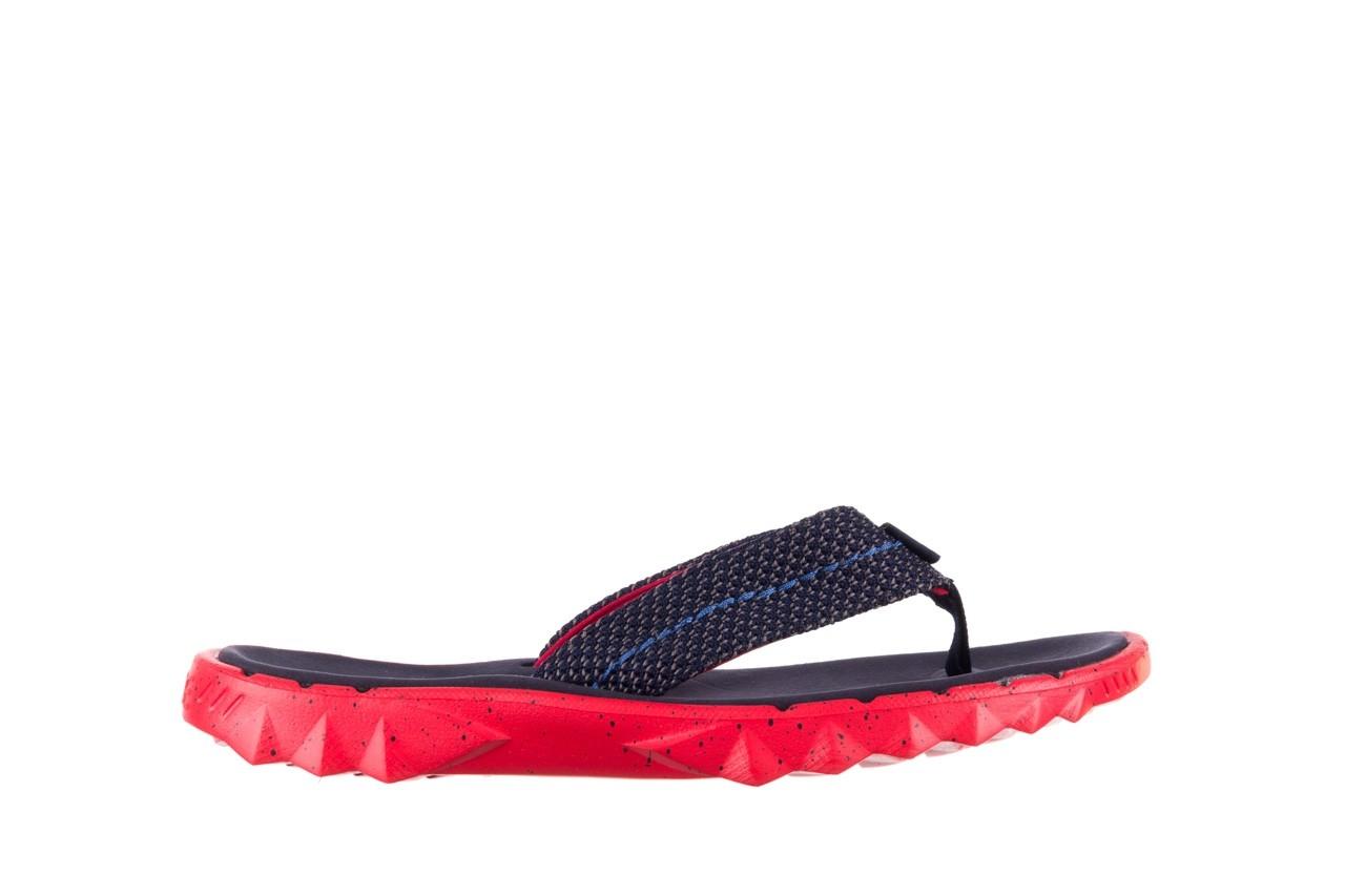Klapki heydude sava sox blue red, czerwony/ granat, materiał - klapki - buty męskie - mężczyzna 7