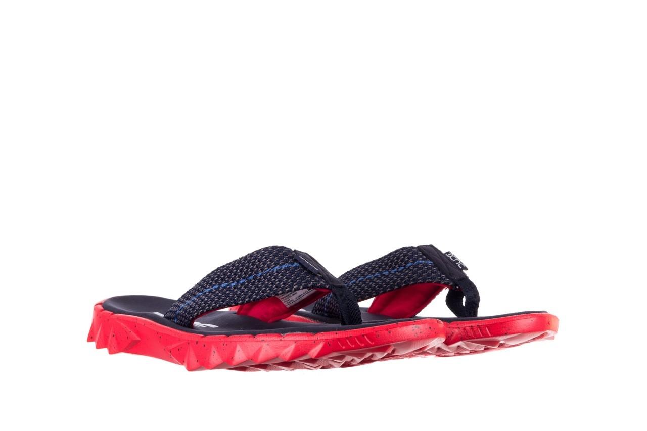 Klapki heydude sava sox blue red, czerwony/ granat, materiał - klapki - buty męskie - mężczyzna 8