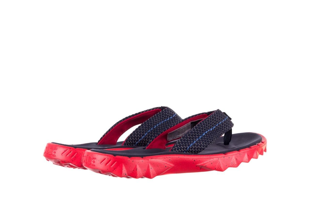 Klapki heydude sava sox blue red, czerwony/ granat, materiał - klapki - buty męskie - mężczyzna 10