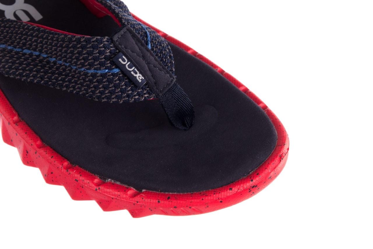 Klapki heydude sava sox blue red, czerwony/ granat, materiał - klapki - buty męskie - mężczyzna 12