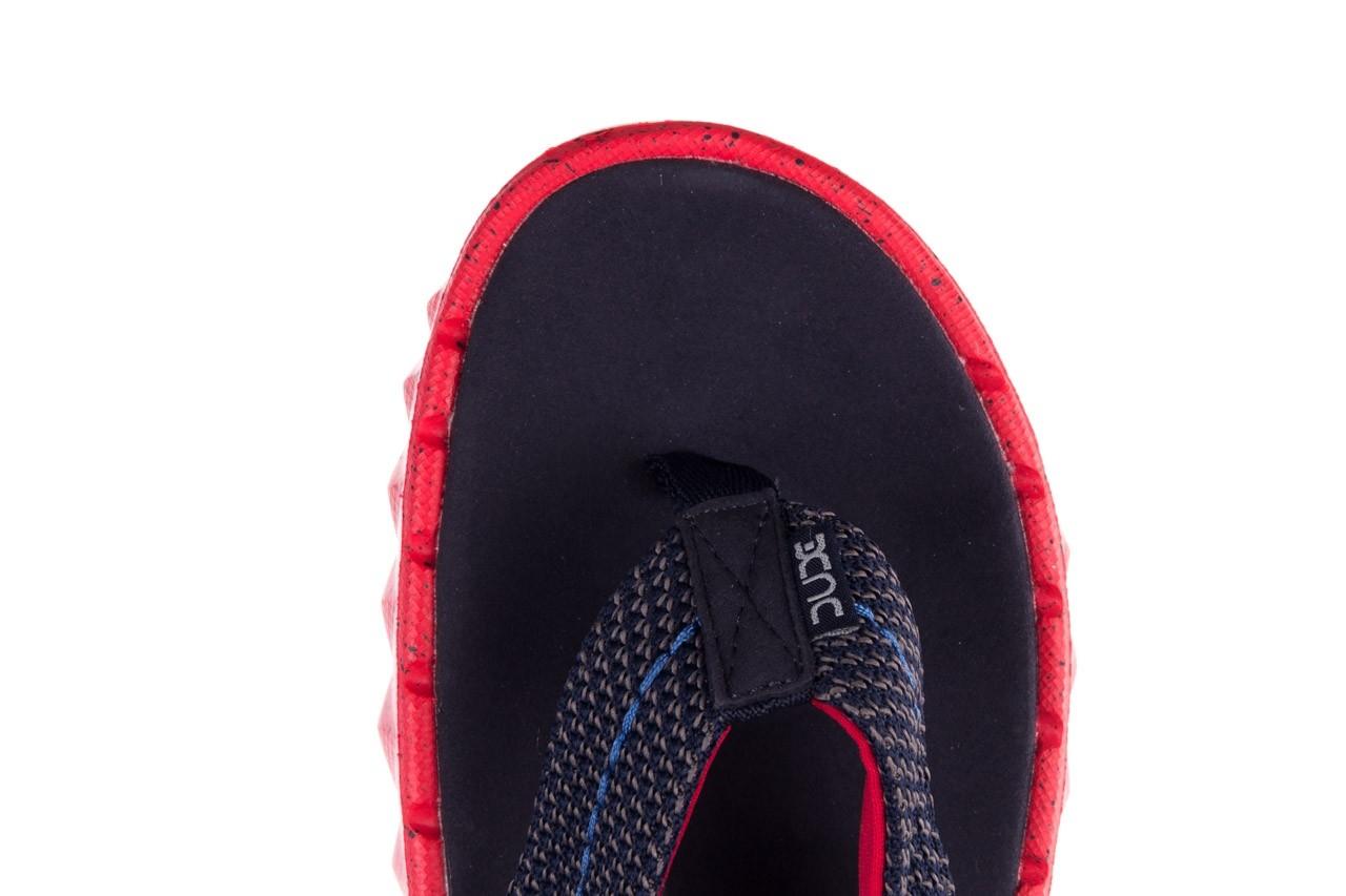 Klapki heydude sava sox blue red, czerwony/ granat, materiał - klapki - buty męskie - mężczyzna 13