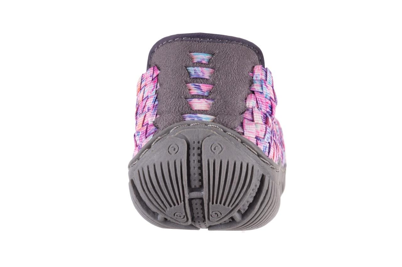 Półbuty rock cape town pink purple smoke, róż, materiał - rock - nasze marki 15