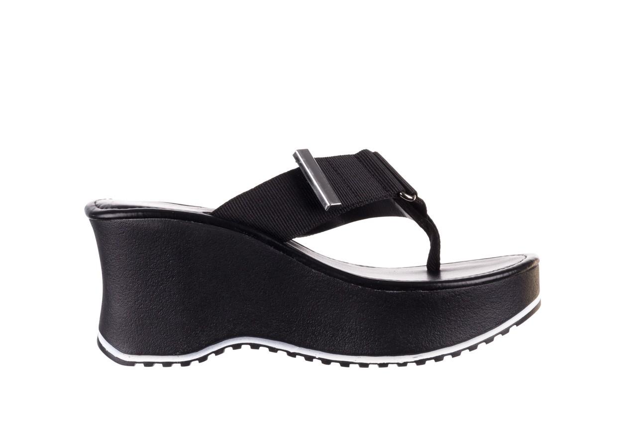 Klapki dijean 479 325 black, czarny, guma - japonki - klapki - buty damskie - kobieta 8