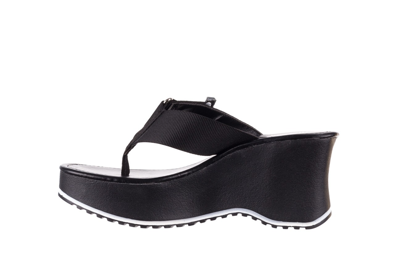 Klapki dijean 479 325 black, czarny, guma - japonki - klapki - buty damskie - kobieta 10
