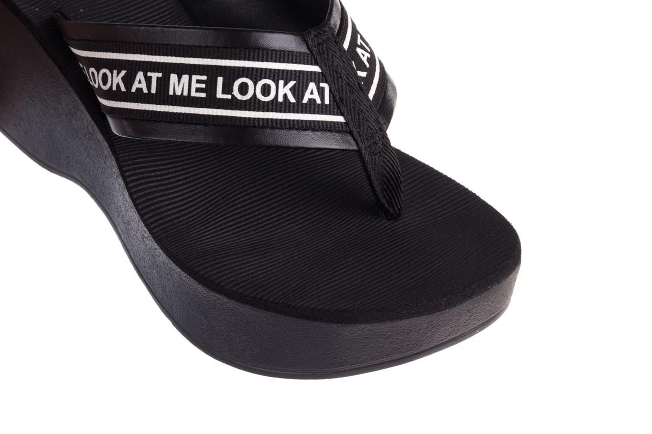 Klapki dijean 296 337 black/white, czarny, guma - dijean - nasze marki 13