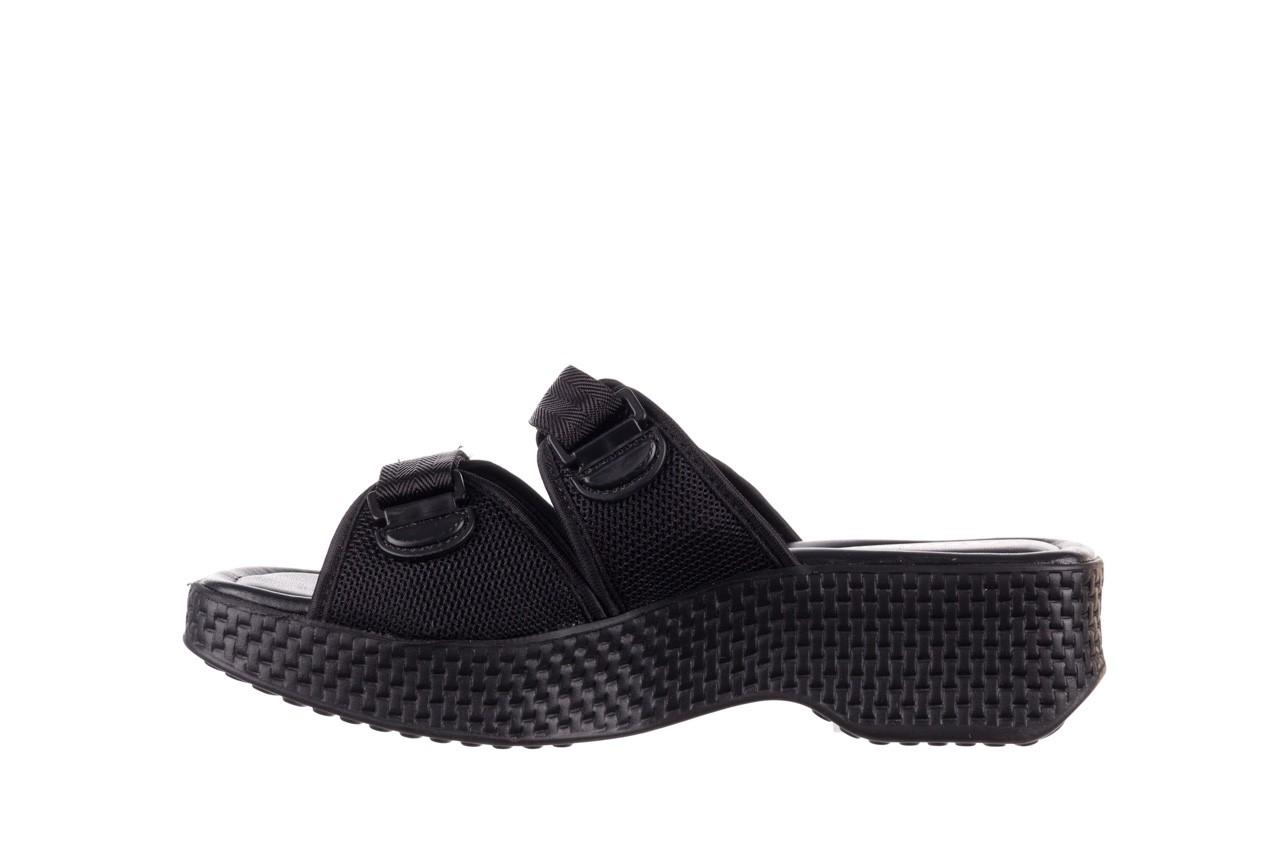 Klapki azaleia 321 291 black, czarny, materiał - azaleia - nasze marki 10