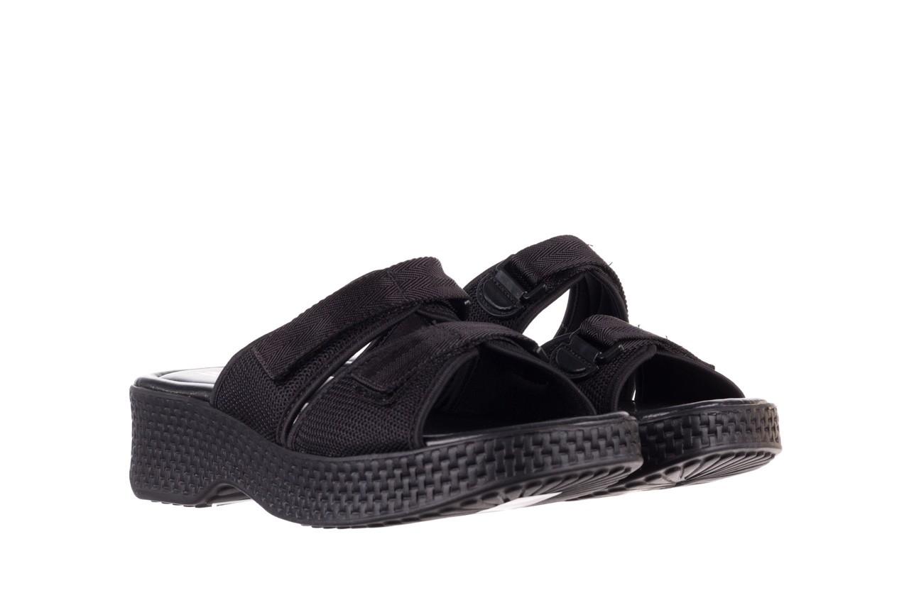 Klapki azaleia 321 291 black, czarny, materiał - azaleia - nasze marki 9