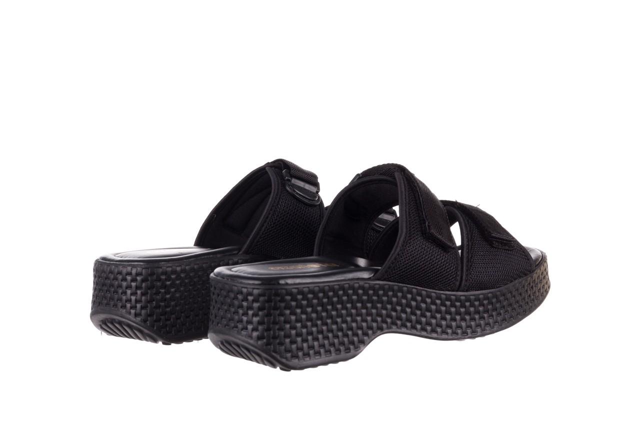 Klapki azaleia 321 291 black, czarny, materiał - azaleia - nasze marki 11