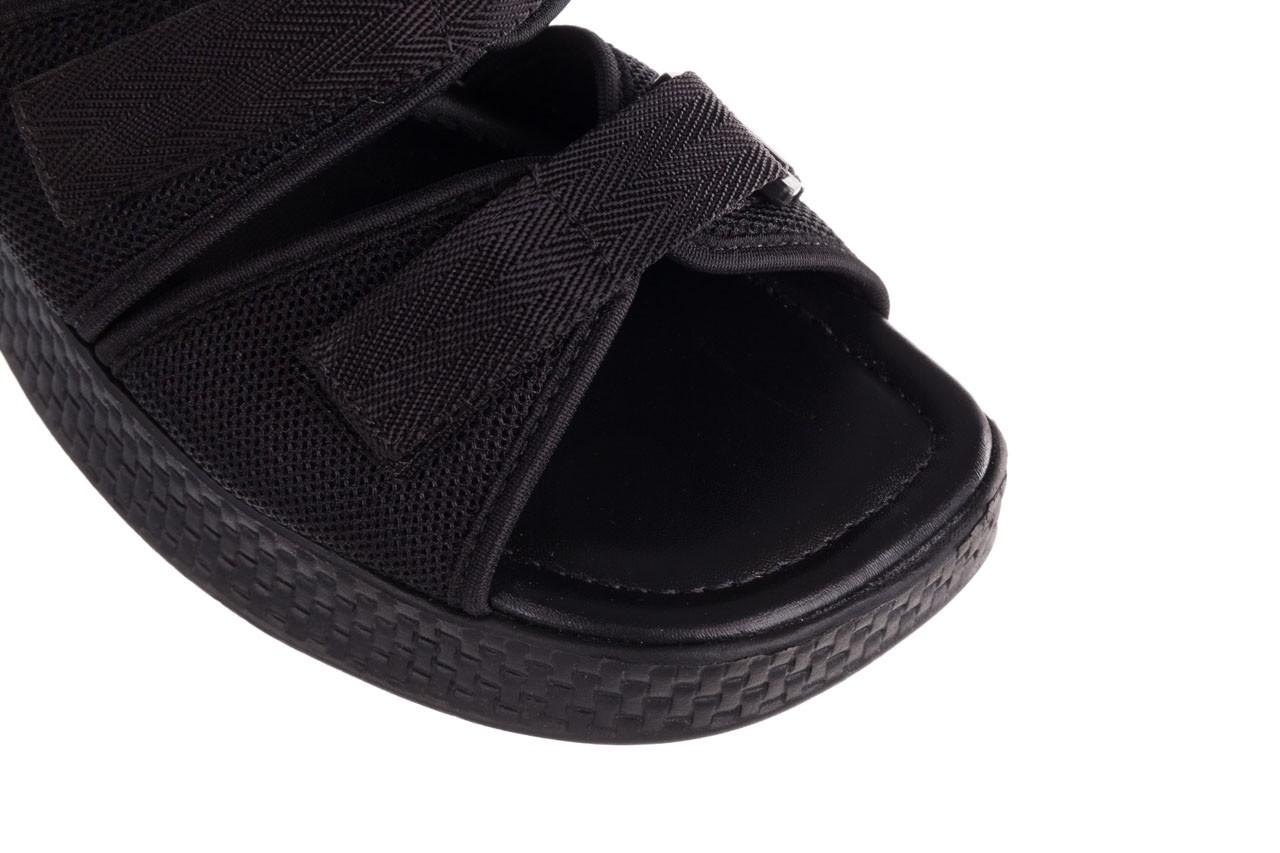Klapki azaleia 321 291 black, czarny, materiał - azaleia - nasze marki 13