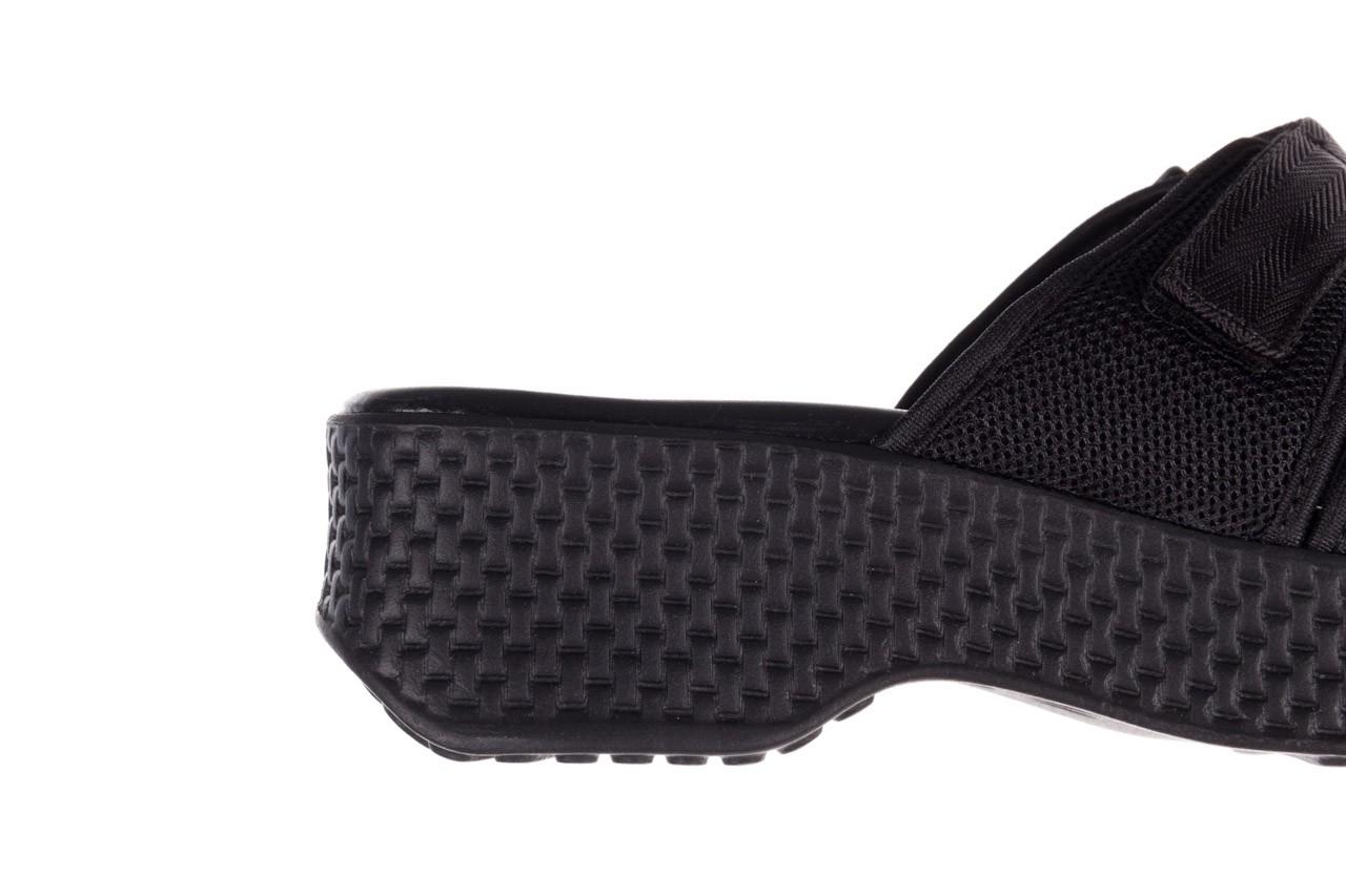 Klapki azaleia 321 291 black, czarny, materiał - azaleia - nasze marki 14