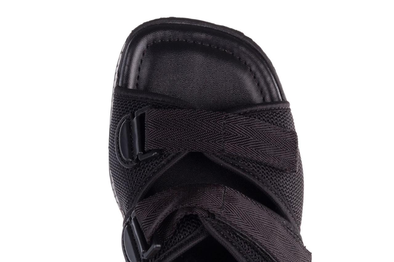 Klapki azaleia 321 291 black, czarny, materiał - azaleia - nasze marki 15
