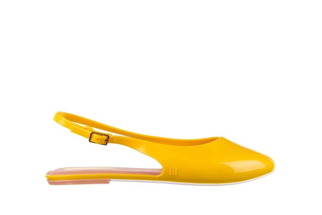 Sandały melissa lipstick ad yellow brown white, żółty, guma  - melissa - nasze marki 8