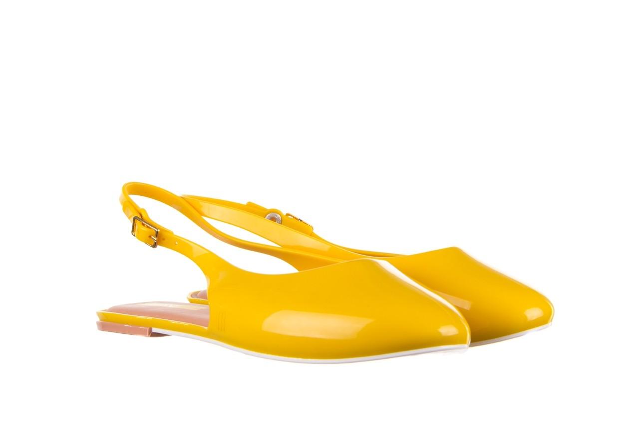 Sandały melissa lipstick ad yellow brown white, żółty, guma  - melissa - nasze marki 9