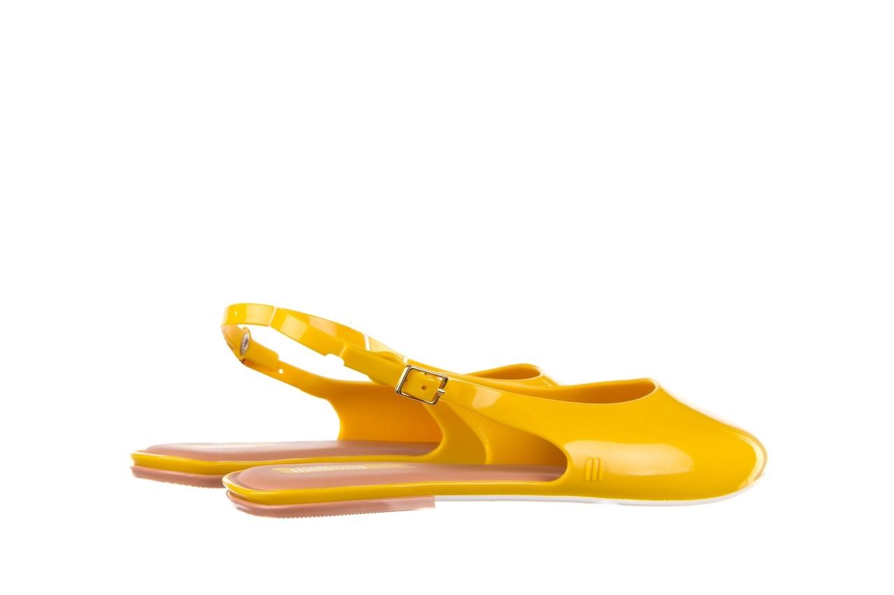 Sandały melissa lipstick ad yellow brown white, żółty, guma  - melissa - nasze marki 11