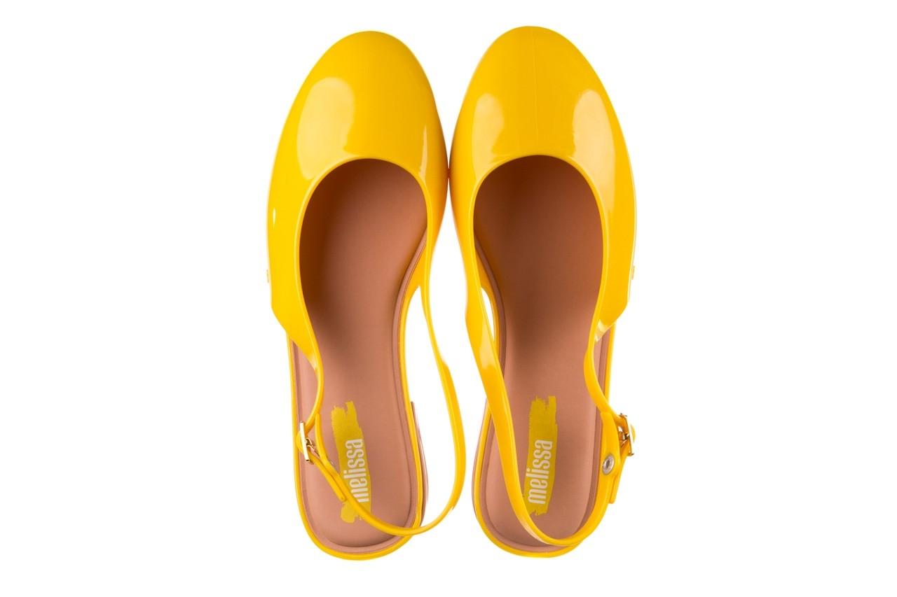 Sandały melissa lipstick ad yellow brown white, żółty, guma  - melissa - nasze marki 12