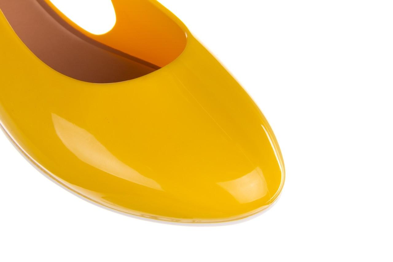 Sandały melissa lipstick ad yellow brown white, żółty, guma  - melissa - nasze marki 14