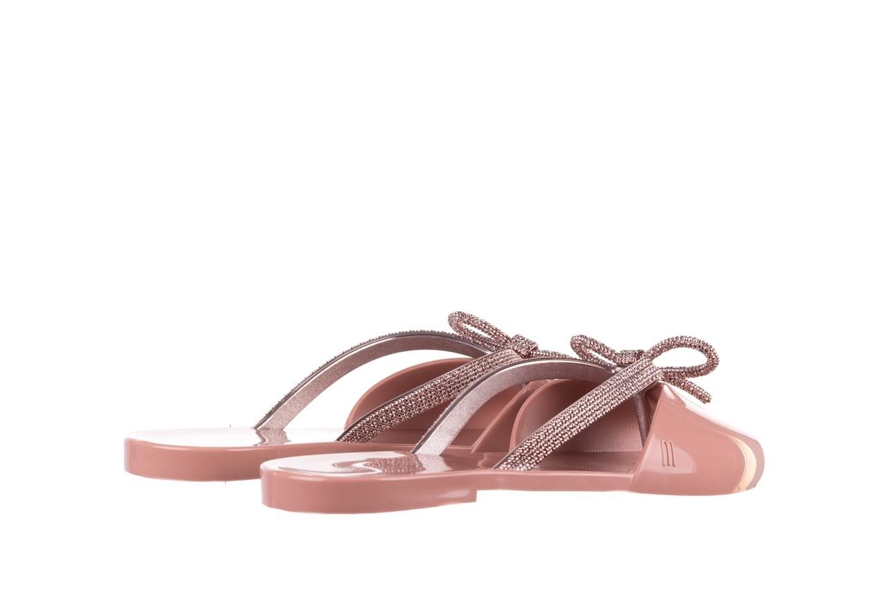 Klapki melissa ela chrome ad pink, róż, guma - melissa - nasze marki 11