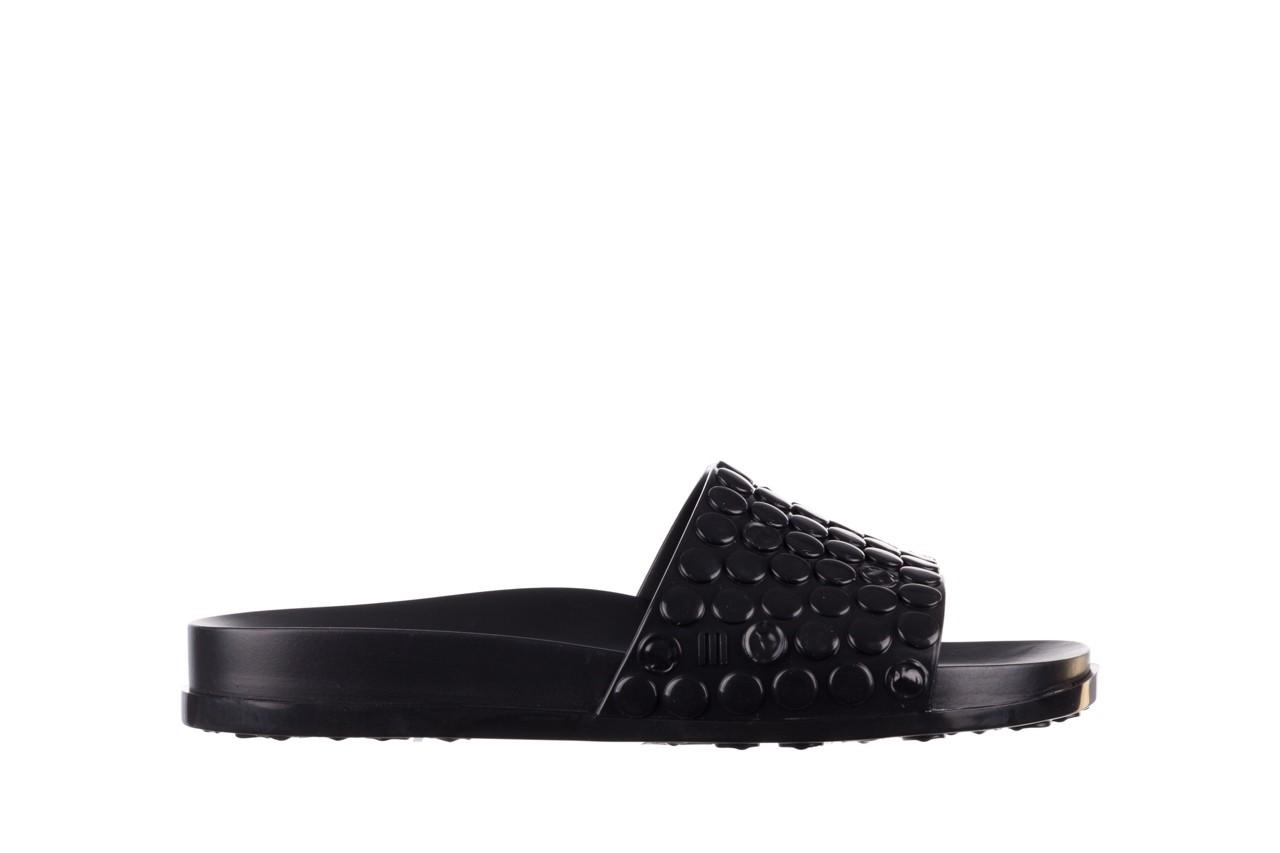 Klapki melissa polibolha slide ad black, czarny, guma - gumowe/plastikowe - klapki - buty damskie - kobieta 8