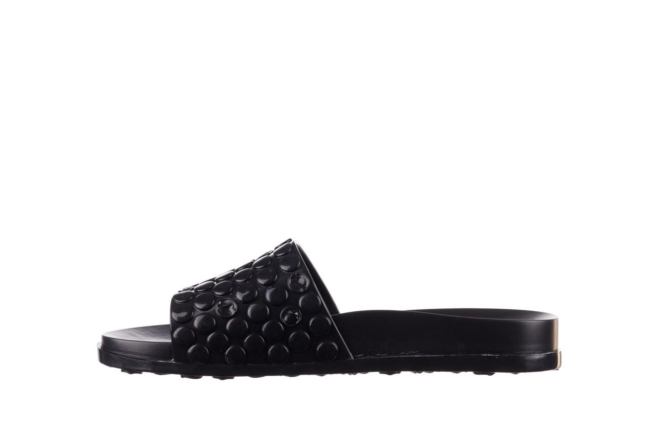 Klapki melissa polibolha slide ad black, czarny, guma - gumowe/plastikowe - klapki - buty damskie - kobieta 10