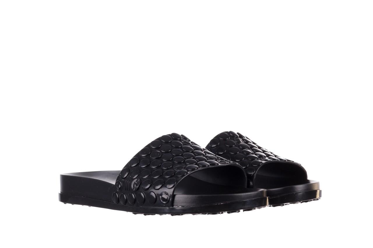 Klapki melissa polibolha slide ad black, czarny, guma - gumowe/plastikowe - klapki - buty damskie - kobieta 9