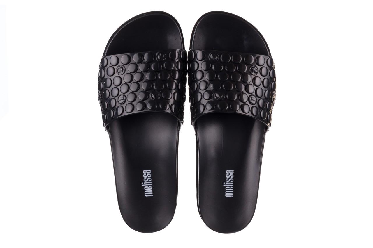 Klapki melissa polibolha slide ad black, czarny, guma - gumowe/plastikowe - klapki - buty damskie - kobieta 12