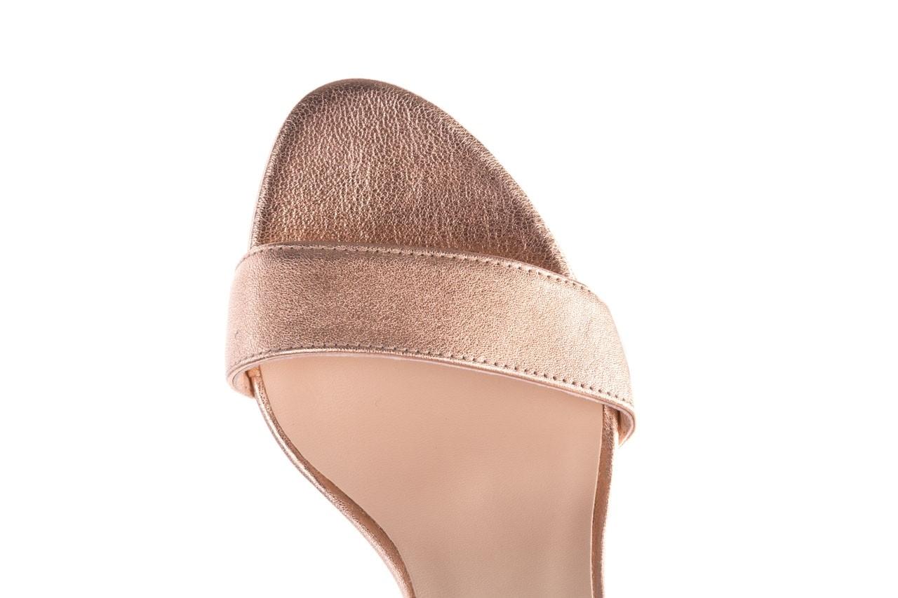 Sandały bayla-056 9177-1480 róż perła, skóra naturalna  - na obcasie - sandały - buty damskie - kobieta 13