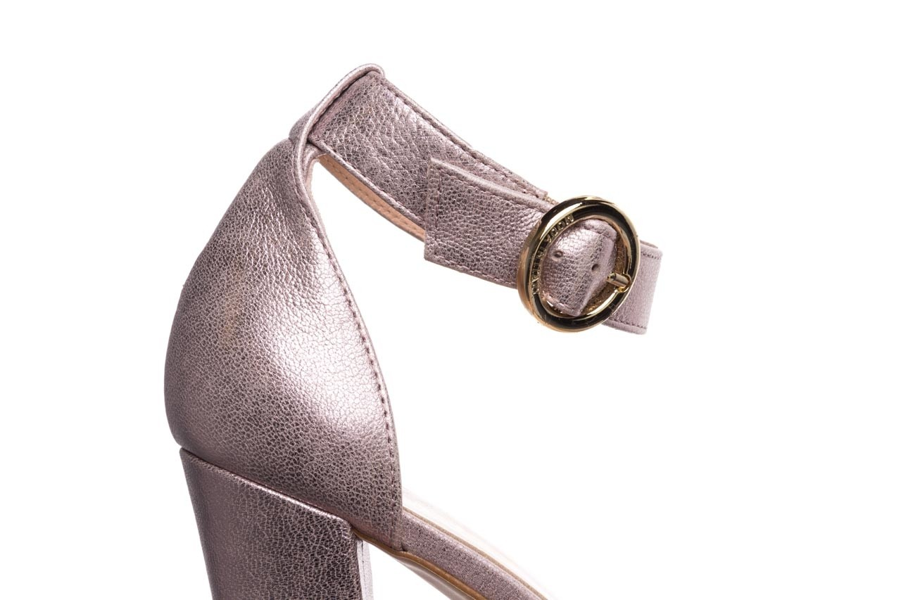 Sandały bayla-056 8024-994 lila perła, skóra naturalna 13