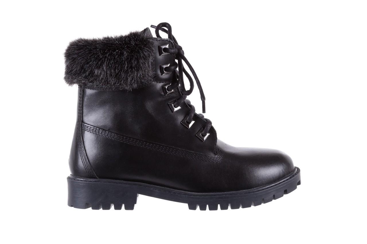 Trzewiki bayla-164 tim 5203 black 164003, czarny, skóra naturalna  - trzewiki - buty damskie - kobieta 7