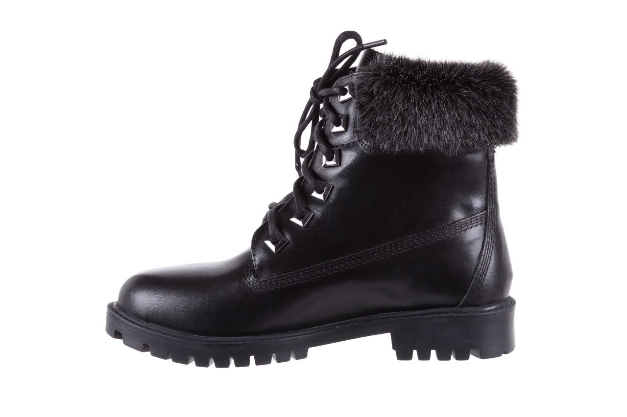 Trzewiki bayla-164 tim 5203 black 164003, czarny, skóra naturalna  - trzewiki - buty damskie - kobieta 9