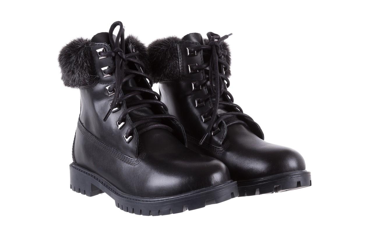 Trzewiki bayla-164 tim 5203 black 164003, czarny, skóra naturalna  - trzewiki - buty damskie - kobieta 8