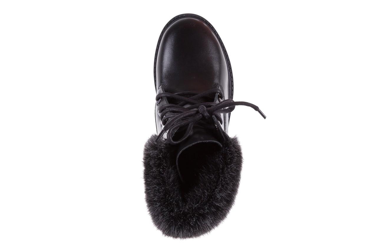 Trzewiki bayla-164 tim 5203 black 164003, czarny, skóra naturalna  - trzewiki - buty damskie - kobieta 11