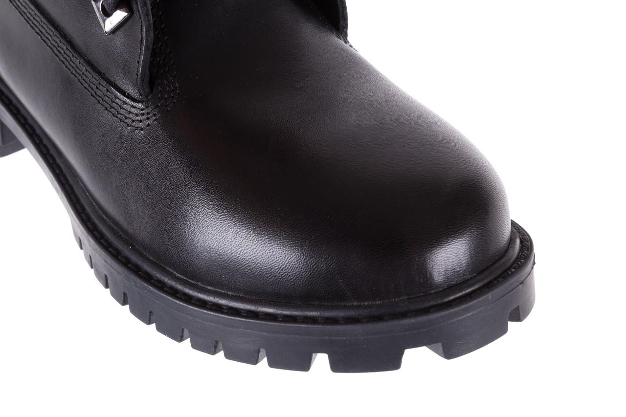 Trzewiki bayla-164 tim 5203 black 164003, czarny, skóra naturalna  - trzewiki - buty damskie - kobieta 12