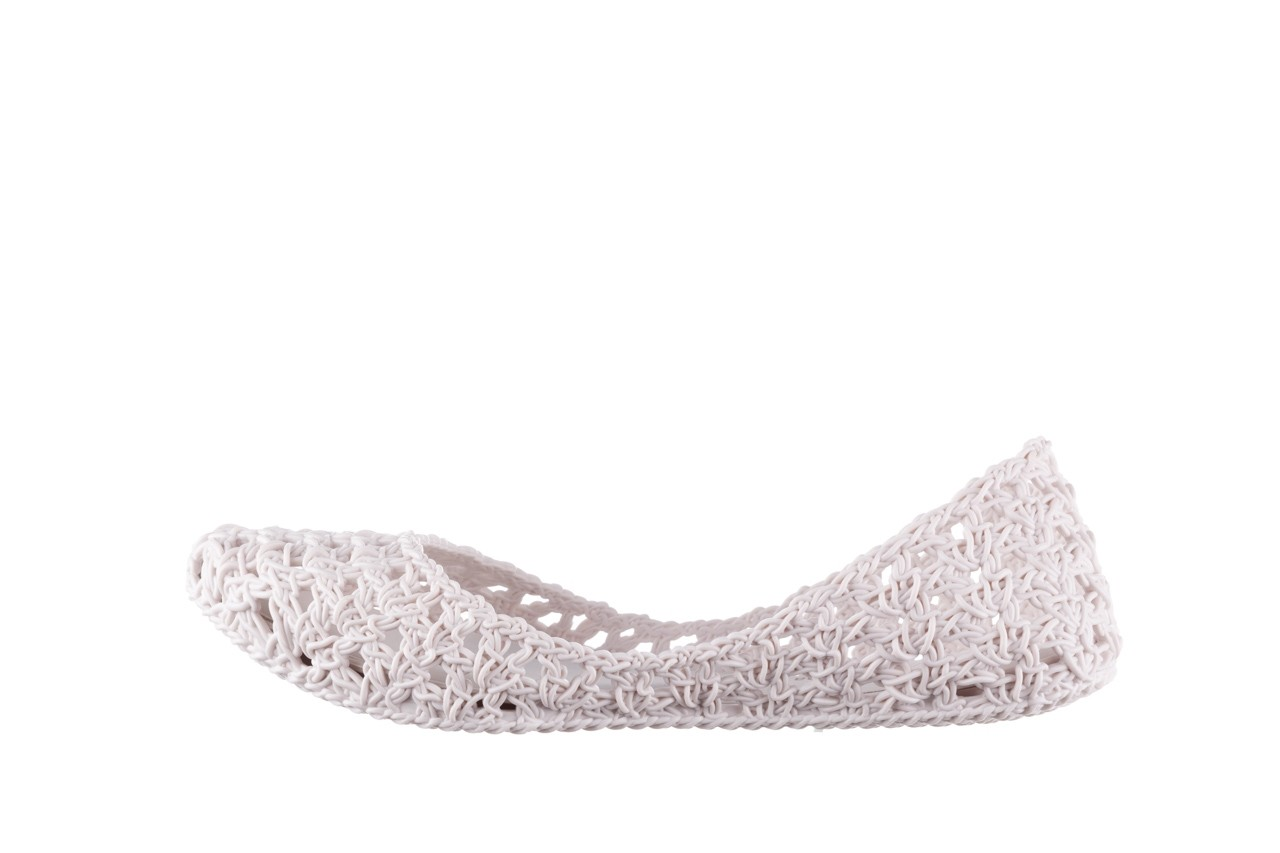Baleriny melissa campana crochet ad white, biały, guma - baleriny - melissa - nasze marki 10