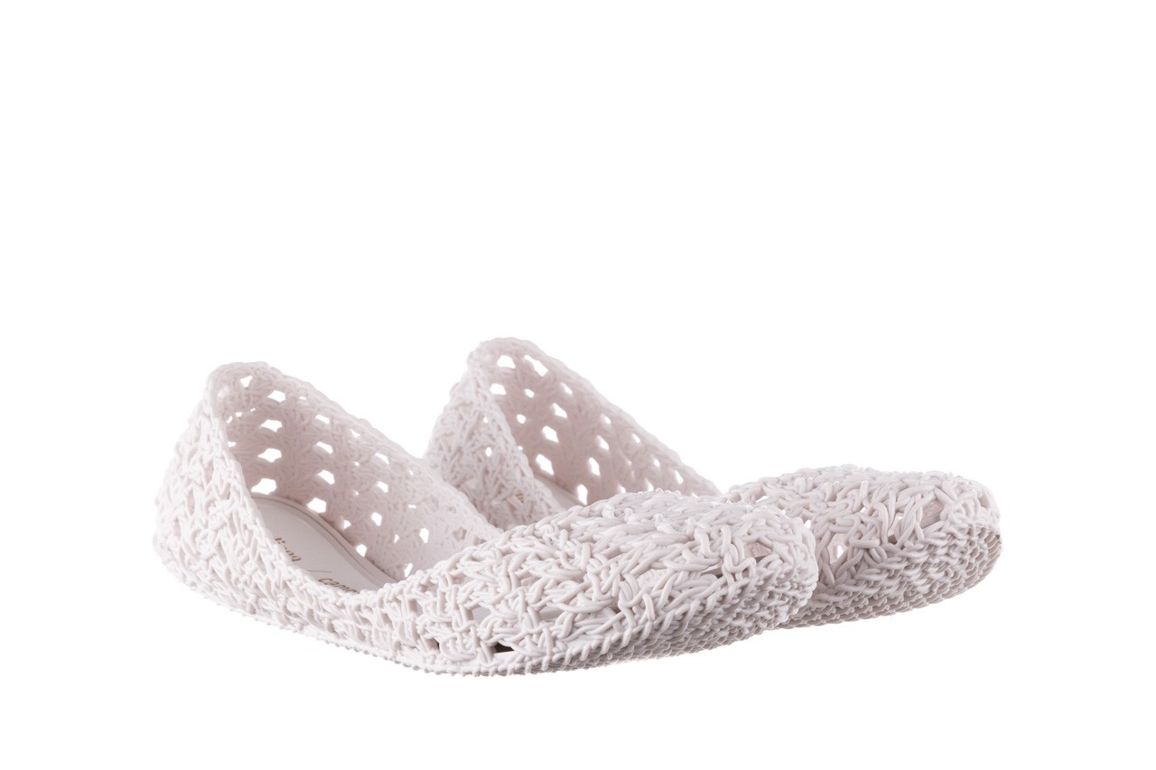 Baleriny melissa campana crochet ad white, biały, guma - baleriny - melissa - nasze marki 9