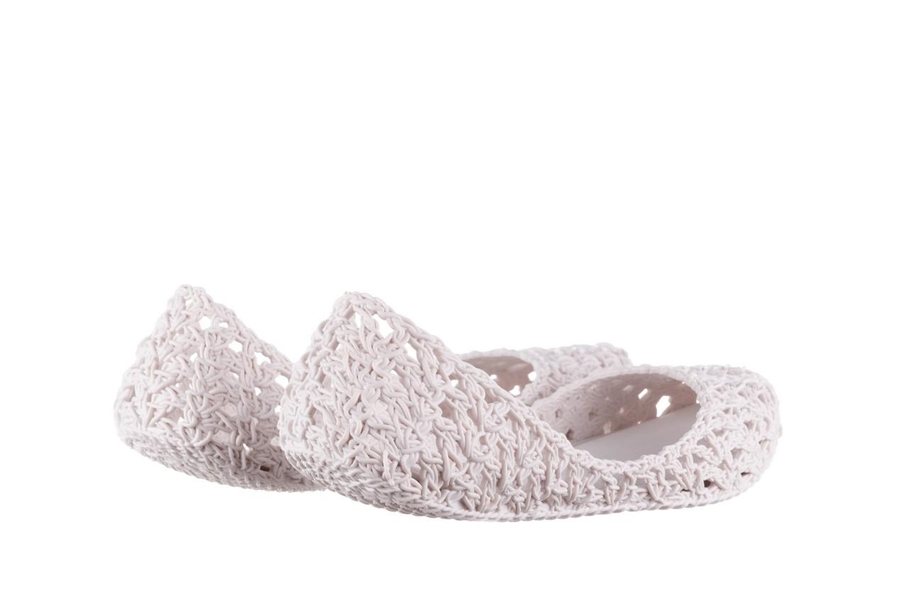 Baleriny melissa campana crochet ad white, biały, guma - baleriny - melissa - nasze marki 11