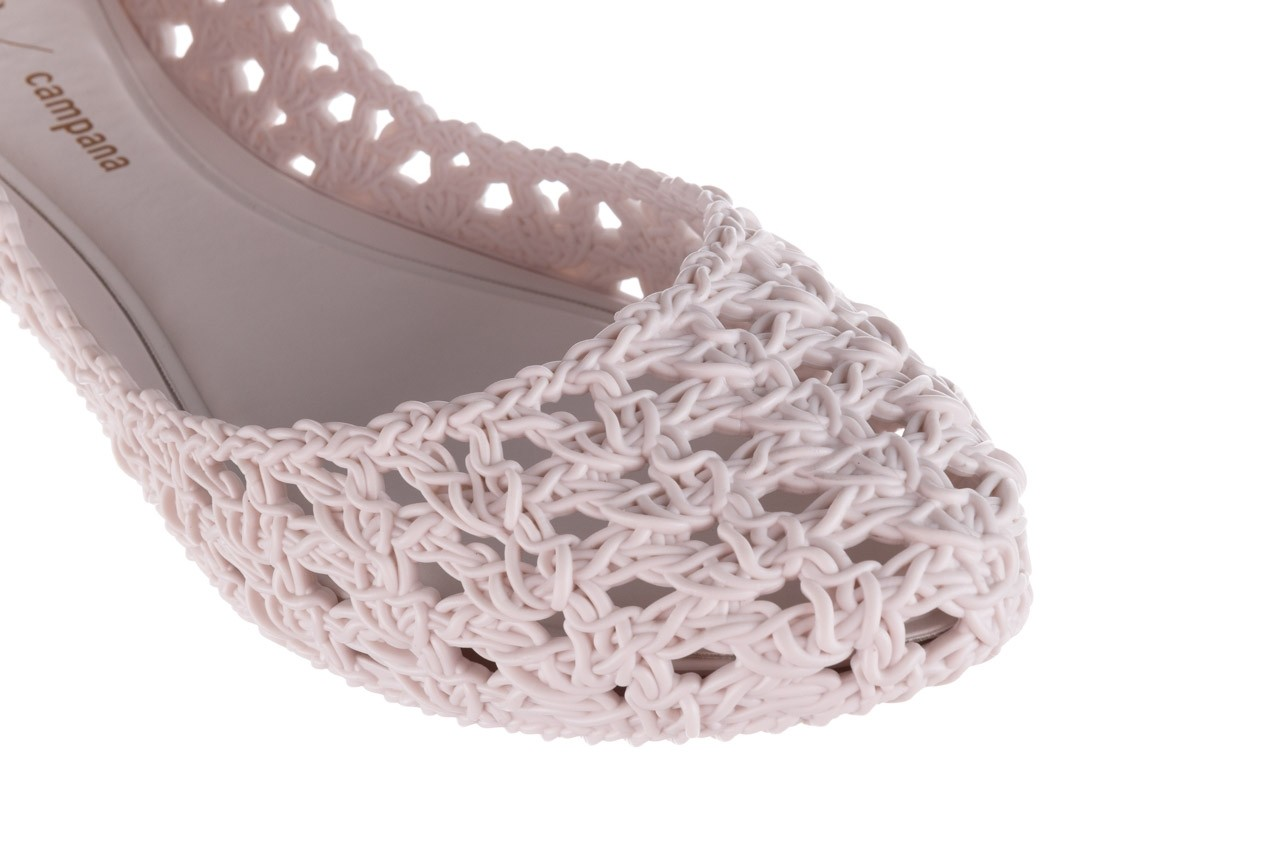 Baleriny melissa campana crochet ad white, biały, guma - baleriny - melissa - nasze marki 13