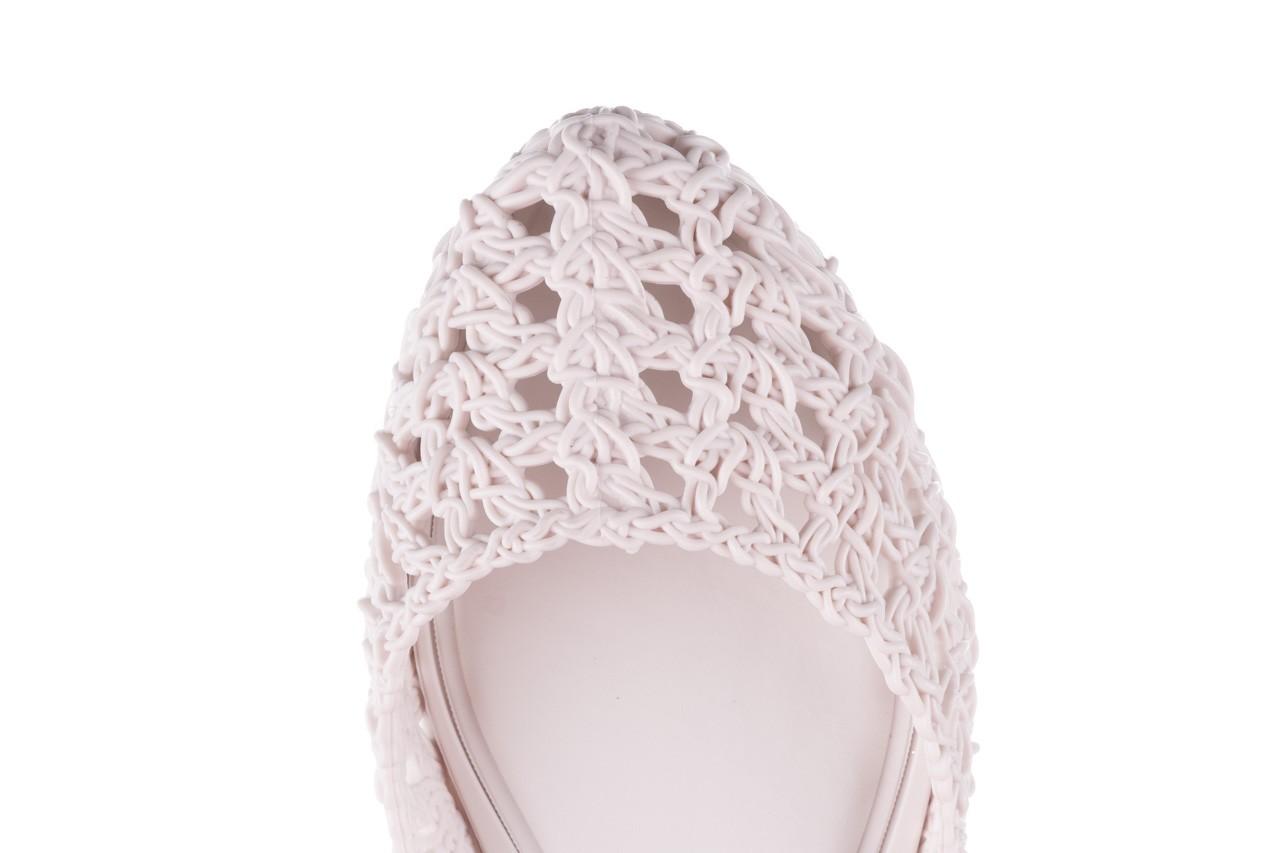 Baleriny melissa campana crochet ad white, biały, guma - baleriny - melissa - nasze marki 14