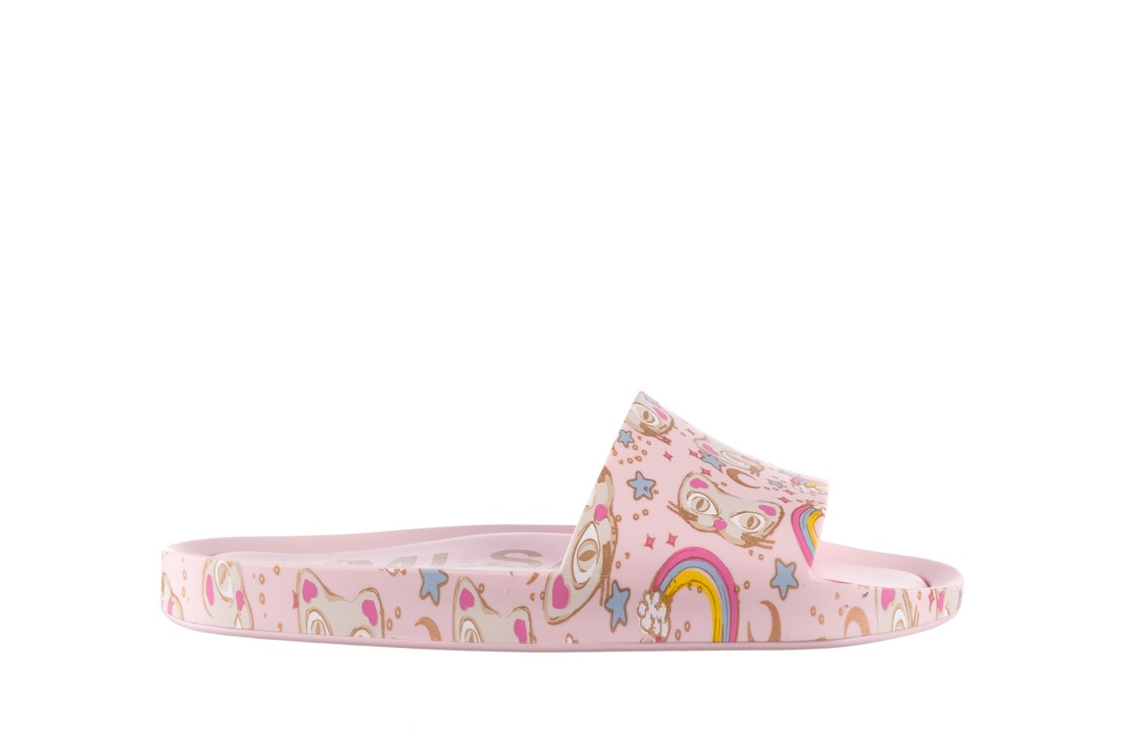 Klapki melissa beach slide 3db iv ad pink gold, róż, guma - klapki - buty damskie - kobieta 8