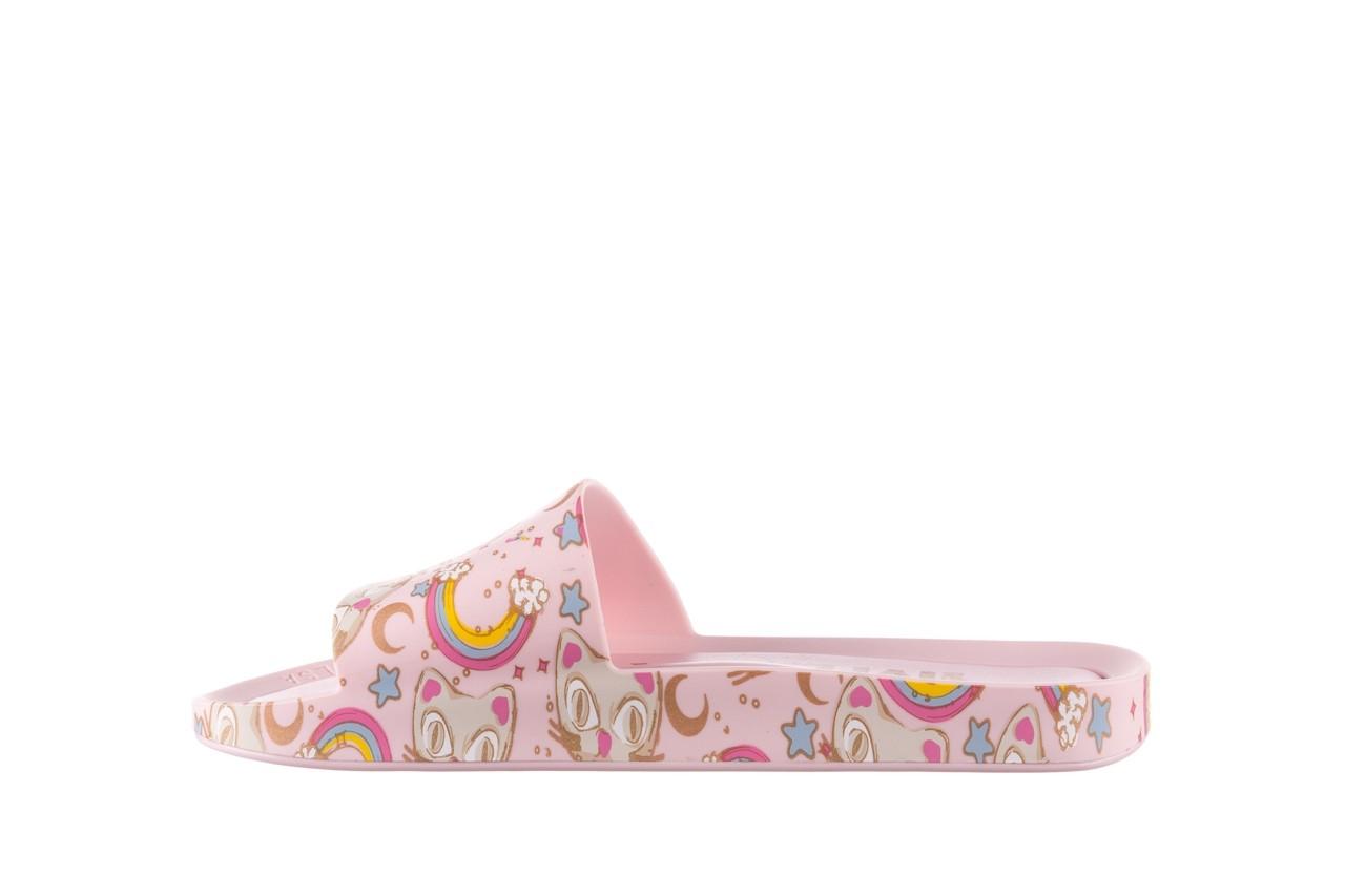 Klapki melissa beach slide 3db iv ad pink gold, róż, guma - klapki - buty damskie - kobieta 10