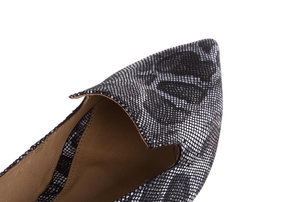 Półbuty bayla-188 001 jaszczurka szary, skóra naturalna - mokasyny i lordsy - półbuty - buty damskie - kobieta 12