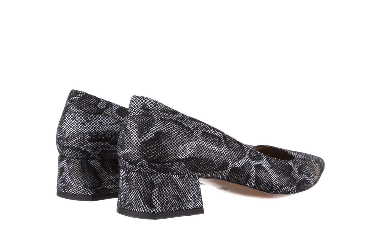 Czółenka bayla-188 002 jaszczurka szary, skóra naturalna  - czółenka - buty damskie - kobieta 10