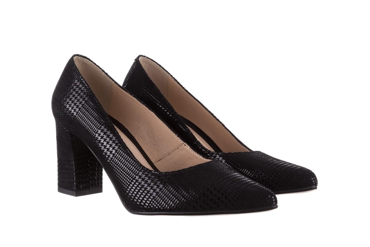 Czółenka bayla-188 003 czarny, skóra naturalna  - czółenka - buty damskie - kobieta 9
