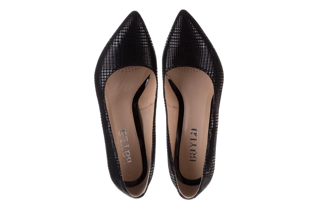 Czółenka bayla-188 003 czarny, skóra naturalna  - czółenka - buty damskie - kobieta 12