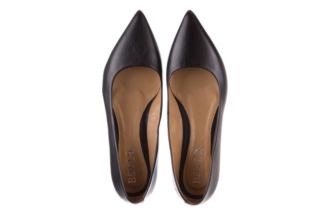 Czółenka bayla-188 002 czarny, skóra naturalna  - skórzane - czółenka - buty damskie - kobieta 12
