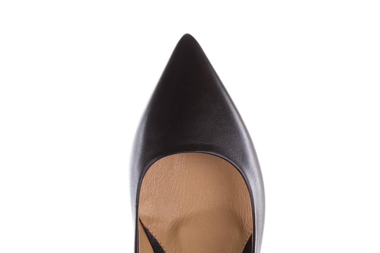 Czółenka bayla-188 002 czarny, skóra naturalna  - skórzane - czółenka - buty damskie - kobieta 14