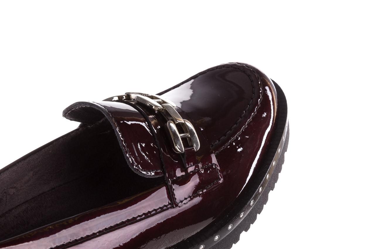 Półbuty pitillos 5811 burdeos, bordowy, skóra naturalna lakierowana - półbuty - buty damskie - kobieta 16