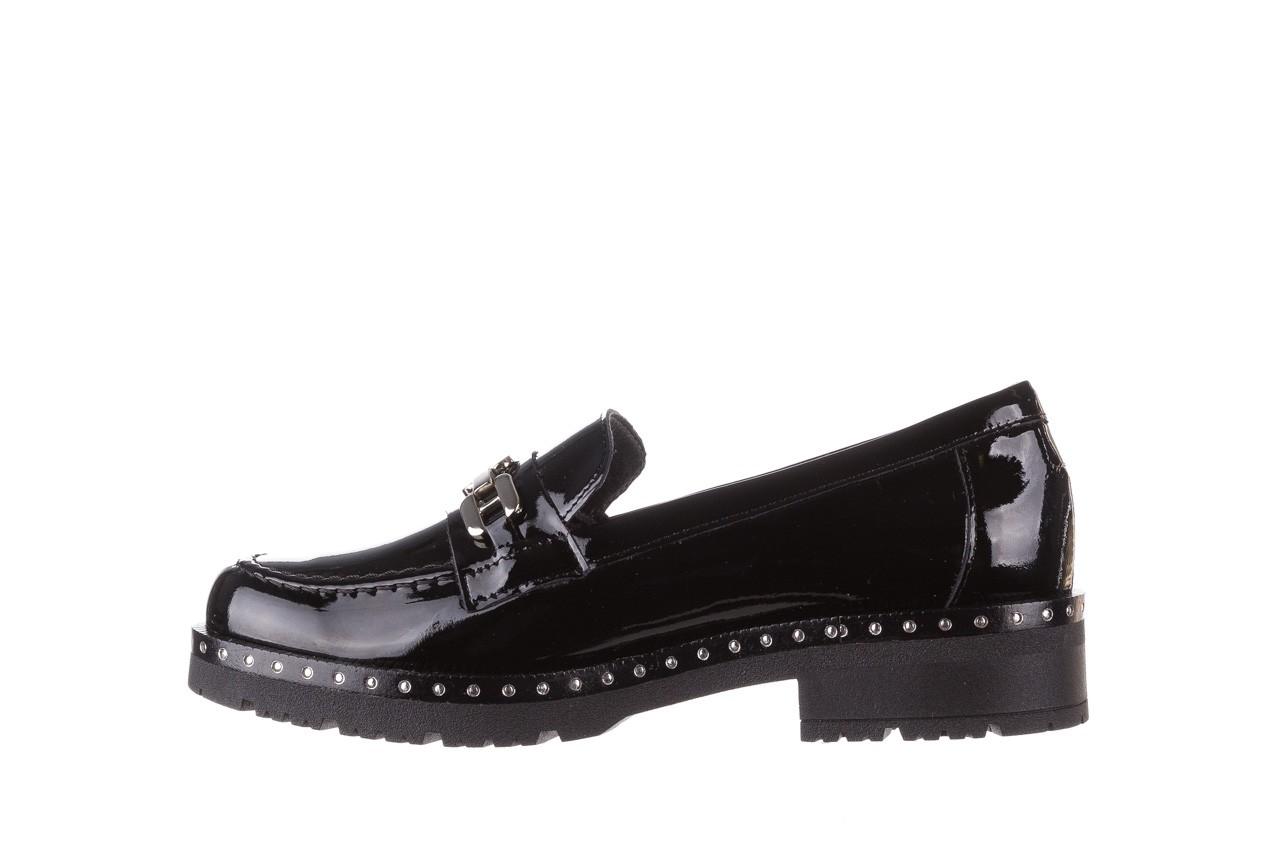 Półbuty pitillos 5811 negro, czarny, skóra naturalna lakierowana  - na obcasie - półbuty - buty damskie - kobieta 11